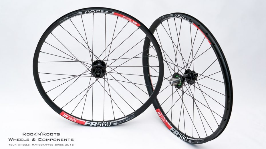 "27.5"" DT Swiss FR 560 / Hope Pro 4 DH / Sapim Race / 2180g"