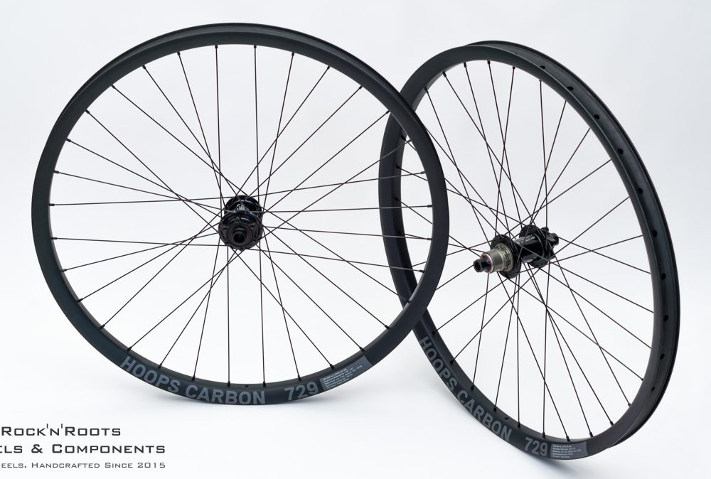 "27.5"" Hoops Carbon 729 / Acros Nineteen FR / Sapim D-Light / 1615g"