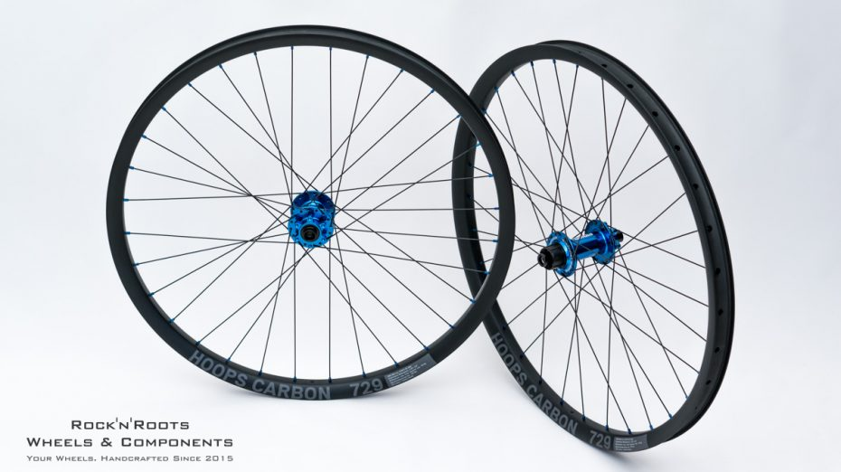 "27.5"" Hoops Carbon 729 / Pinion H2 / Sapim D-Light / 1755g"