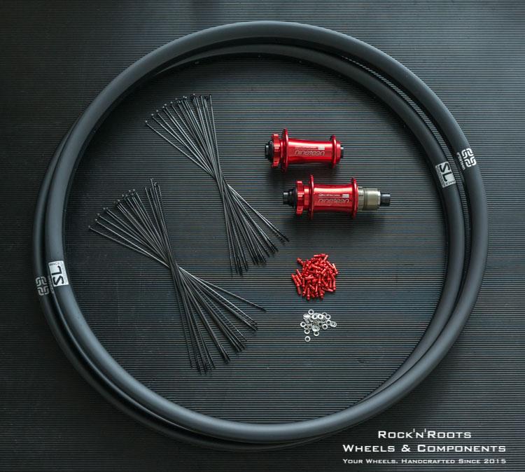 Laufradbau Komponenten