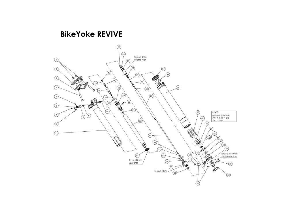BikeYoke Revive Ersatzteile