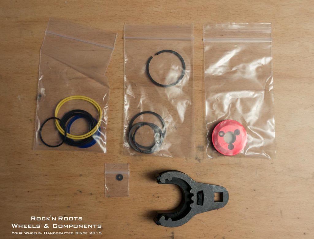 Inline Aircan Service Kit + Werkzeug