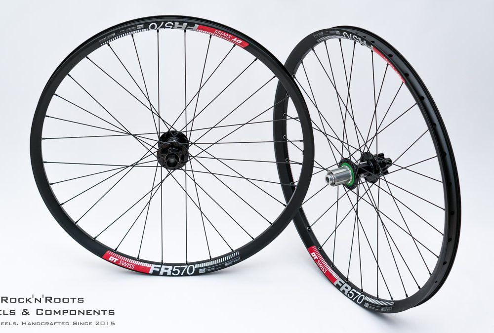 "27.5"" DT Swiss FR 570 / Hope Pro 4 / Sapim Race / 2087g"