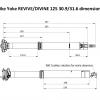Revive 2.0 125/31.6 Dimensionen